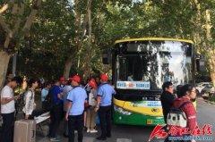 10月1日至7日合肥公交平安运送乘客