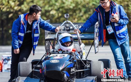 2018中国大学生方程式汽车大赛湖北襄阳开赛