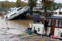 法国西南部出现强烈暴风雨 酿成百年来最惨重洪灾
