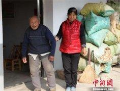 湖北省京山市杨集镇新场村一夫妻赡养孤寡老人