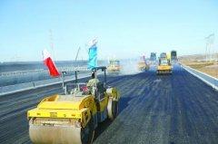 北京新机场高速建设完成超七成 计