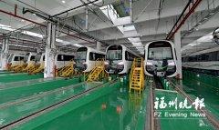 福州地铁2号线车站已全部封顶 明年