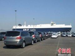 11月份大连港商品车转运量首次突破