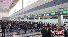 2018年哈尔滨机场对俄客运量16.3万人