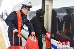今年春运福建省铁路预计发送旅客