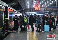 24日全国铁路发送旅客935.4万人次