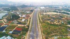 深圳光明区周家大道全线通车 全长