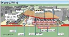 京张高铁清河站6月底主体完工 将建