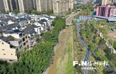 福州解放溪将建1公里最美示范段