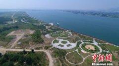 湖北襄阳鱼梁洲环岛景观带10月完工