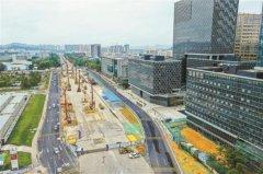 深圳地铁四期主体工程开工92个 管