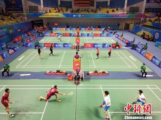 中国(陵水)国际羽毛球大师赛挥拍开打中国队17人入正赛