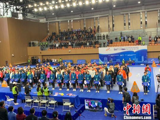2019年全国U17国际式摔跤锦标赛武汉开幕