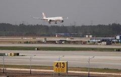 A350-900客机在东航北京大兴国际机场