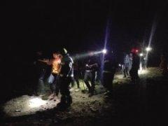 13名游客结伴攀爬野长城半路上迷失