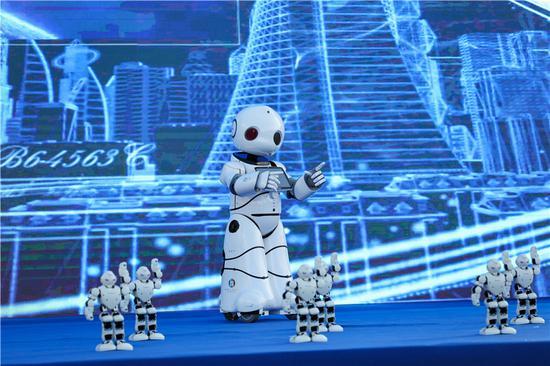 开幕式开场舞《机器人舞蹈》