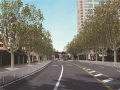 南京云南北路将实施道路综合整治