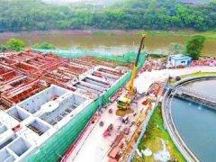自贡实施六大工程治理釜溪河 两年