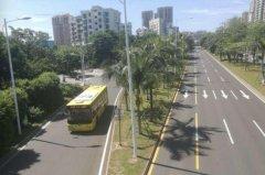 海口6条公交专用道月底将启用 禁止