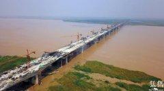 河南省焦荥黄河大桥下半年将建成