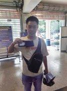 重庆一货车司机才交还10万元又捡到