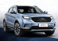 福特纯电SUV领界EV将于8月25日上市:续航360km 预售