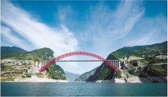 秭归长江公路大桥全线贯通 为双向