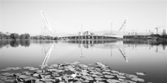 北京新首钢大桥贯通 将于今年9月底