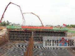 柳州古灵大道下穿工程预计年底可