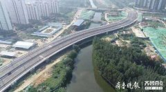 济宁太白湖新区车站南路跨老运河