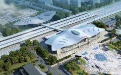 潍坊站新建南站房主体完成 总建筑
