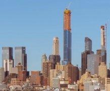 世界最高公寓楼将于明年在美建成 最贵顶层五居室