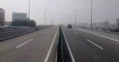 济宁火炬路跨线桥将正式通车 全长