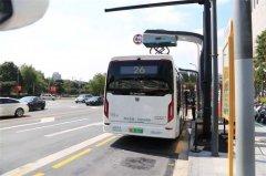 上海公交首批10辆新型智能超级电容