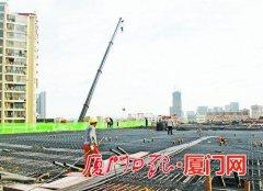 厦门同集路提升改造明年3月完工