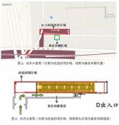 天津地铁6号线复兴路站D出入口部分